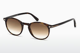 선글라스 Tom Ford Andrea (FT0539 52F) - 갈색, Dark, Havana