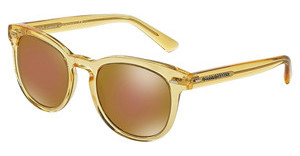 Dolce & Gabbana DG4254 2825F9 BROWN MIRROR BRONZETRANSPARENT YELLOW