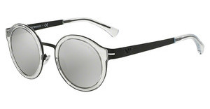 Emporio Armani EA2029 30016G LIGHT GREY MIRROR SILVERMATTE BLACK