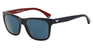 Emporio Armani EA4041 534780 DARK BLUEBLUE GRADIENT RED ON RED