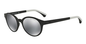 Emporio Armani EA4045 53236G LIGHT GREY MIRROR BLACKMATTE BLACK