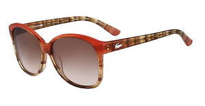 Lacoste L701S 830 CORAL/BROWN GRADIENT