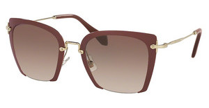 Miu Miu MU 52RS UA50A6 BROWN GRADIENTAMARANTH