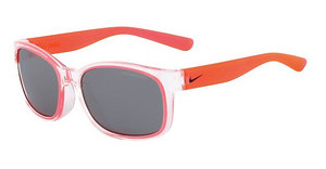 Nike NIKE SPIRIT EV0886 906 CLEAR/HYPER PUNCH WITH GREY W/SILVER FLASH LENS LENS