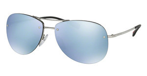 Prada Sport PS 50RS 1BC5K2 GREEN MIRROR SILVERSILVER