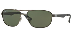Ray-Ban RB3528 029/9A DARK GREEN POLARMATTE GUNMETAL