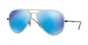 Ray-Ban RB4211 646/55 GREEN MIRROR BLUEMATTE TRANSPARENT