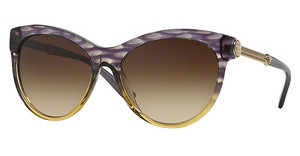 Versace VE4292 515313 BROWN GRADIENTSTRIPED VIOLET HAVANA/TR GREEN