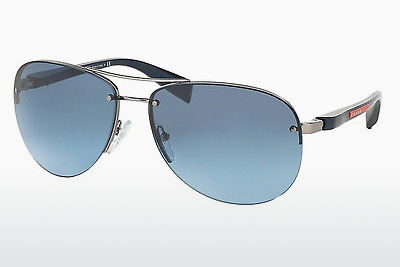 선글라스 Prada Sport PS 56MS (65) (PS 56MS 5AS5I1) - 은색, Pewter