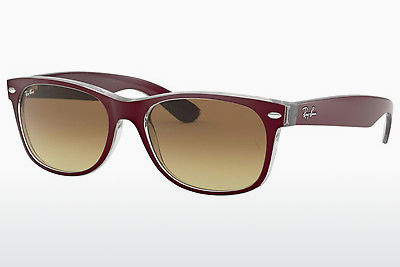 선글라스 Ray-Ban NEW WAYFARER (RB2132 605485) - 보라색, Bordo