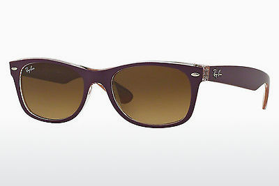 선글라스 Ray-Ban NEW WAYFARER (RB2132 619285) - 보라색, Violet