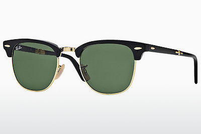 선글라스 Ray-Ban CLUBMASTER FOLDING (RB2176 901) - 검은색