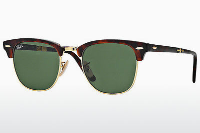 선글라스 Ray-Ban CLUBMASTER FOLDING (RB2176 990) - 갈색, 하바나