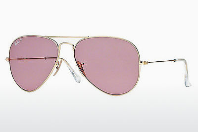 선글라스 Ray-Ban AVIATOR LARGE METAL (RB3025 001/15) - 금색