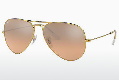 선글라스 Ray-Ban AVIATOR LARGE METAL (RB3025 001/3E) - 금색