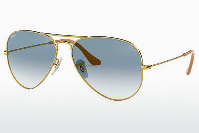 선글라스 Ray-Ban AVIATOR LARGE METAL (RB3025 001/3F) - 금색