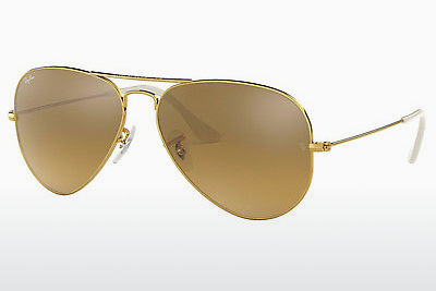 선글라스 Ray-Ban AVIATOR LARGE METAL (RB3025 001/3K) - 금색