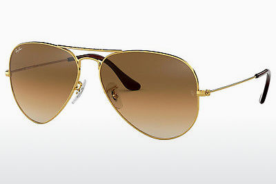선글라스 Ray-Ban AVIATOR LARGE METAL (RB3025 001/51) - 금색