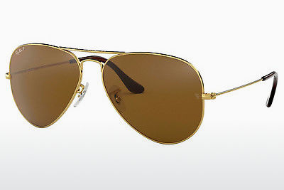 선글라스 Ray-Ban AVIATOR LARGE METAL (RB3025 001/57) - 금색