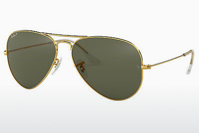 선글라스 Ray-Ban AVIATOR LARGE METAL (RB3025 001/58) - 금색