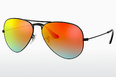 선글라스 Ray-Ban AVIATOR LARGE METAL (RB3025 002/4W) - 검은색