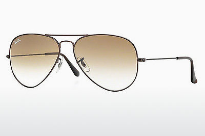 선글라스 Ray-Ban AVIATOR LARGE METAL (RB3025 014/51) - 갈색