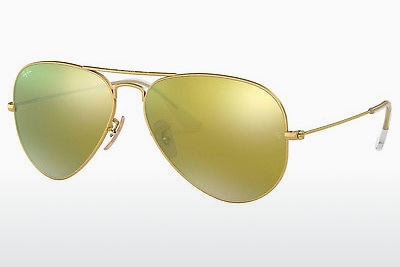 선글라스 Ray-Ban AVIATOR LARGE METAL (RB3025 112/93) - 금색
