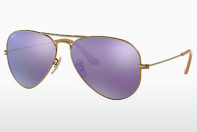 선글라스 Ray-Ban AVIATOR LARGE METAL (RB3025 167/1M) - 갈색