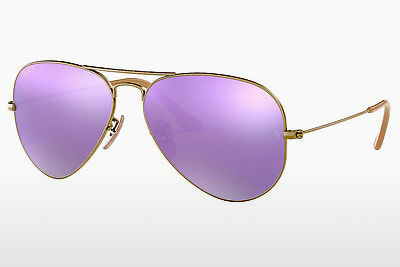 선글라스 Ray-Ban AVIATOR LARGE METAL (RB3025 167/1R) - 갈색