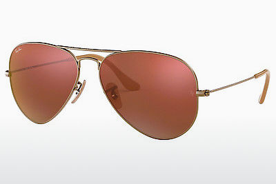 선글라스 Ray-Ban AVIATOR LARGE METAL (RB3025 167/2K) - 갈색