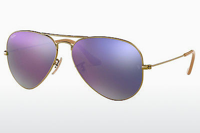 선글라스 Ray-Ban AVIATOR LARGE METAL (RB3025 167/4K) - 갈색
