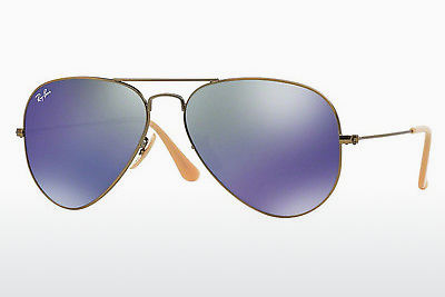 선글라스 Ray-Ban AVIATOR LARGE METAL (RB3025 167/68) - 갈색