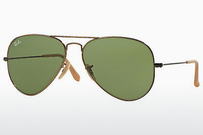 선글라스 Ray-Ban AVIATOR LARGE METAL (RB3025 177/4E) - 금색