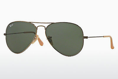 선글라스 Ray-Ban AVIATOR LARGE METAL (RB3025 177) - 금색