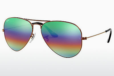 선글라스 Ray-Ban AVIATOR LARGE METAL (RB3025 9018C3) - 갈색