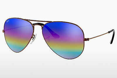 선글라스 Ray-Ban AVIATOR LARGE METAL (RB3025 9019C2) - 회색, 갈색