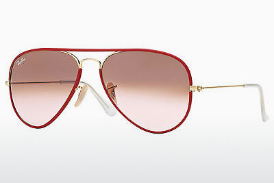 선글라스 Ray-Ban AVIATOR FULL COLOR (RB3025JM 001/X3) - 금색, 적색