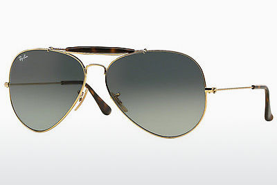 선글라스 Ray-Ban OUTDOORSMAN II (RB3029 181/71) - 금색