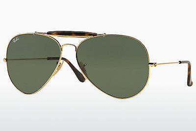 선글라스 Ray-Ban OUTDOORSMAN II (RB3029 181) - 금색