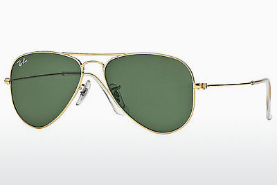 선글라스 Ray-Ban AVIATOR SMALL METAL (RB3044 L0207) - 금색