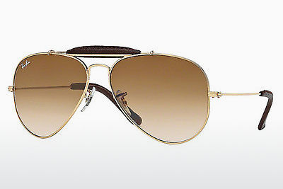 선글라스 Ray-Ban AVIATOR CRAFT (RB3422Q 001/51) - 금색