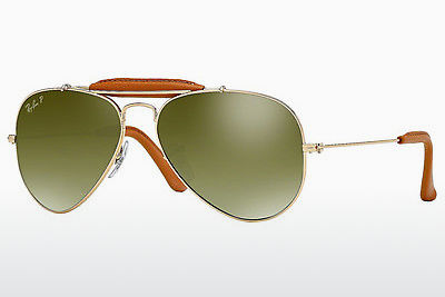 선글라스 Ray-Ban AVIATOR CRAFT (RB3422Q 001/M9) - 금색, 갈색