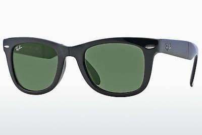 선글라스 Ray-Ban FOLDING WAYFARER (RB4105 601) - 검은색