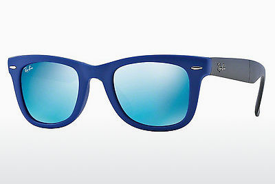 선글라스 Ray-Ban FOLDING WAYFARER (RB4105 602017) - 청색
