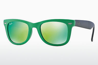 선글라스 Ray-Ban FOLDING WAYFARER (RB4105 602119) - 녹색
