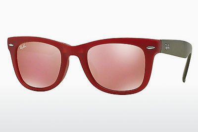 선글라스 Ray-Ban FOLDING WAYFARER (RB4105 6050Z2) - 적색