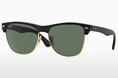 선글라스 Ray-Ban CLUBMASTER OVERSIZED (RB4175 877) - 검은색, 금색