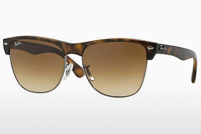선글라스 Ray-Ban CLUBMASTER OVERSIZED (RB4175 878/51) - 갈색, 하바나