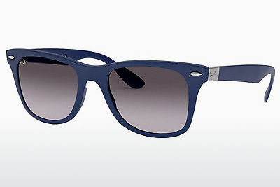 선글라스 Ray-Ban WAYFARER LITEFORCE (RB4195 60158G) - 청색