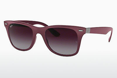 선글라스 Ray-Ban WAYFARER LITEFORCE (RB4195 60874Q) - 회색, 보라색